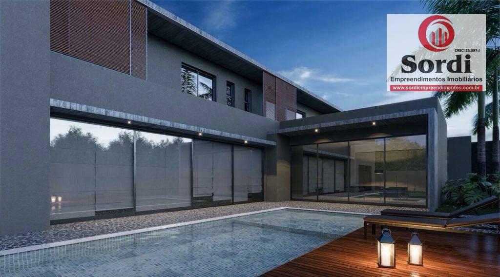 Sobrado com 5 dormitórios à venda, 650 m² por R$ 4.900.000 - Condomínio Ipê Roxo - Ribeirão Preto/SP