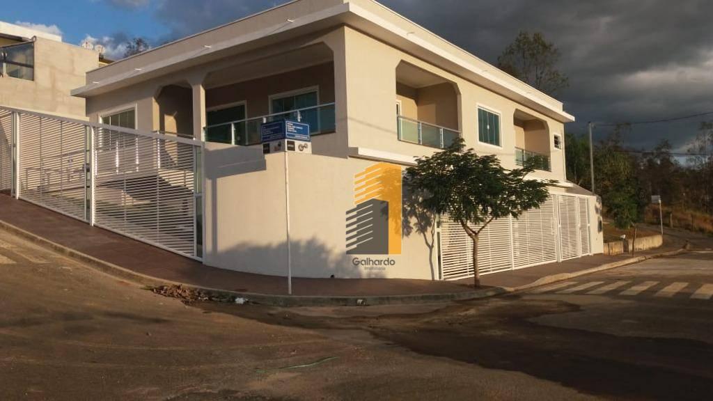 Casa com 2 dormitórios à venda por R$ 500.000 - Centro - Piranguinho/MG