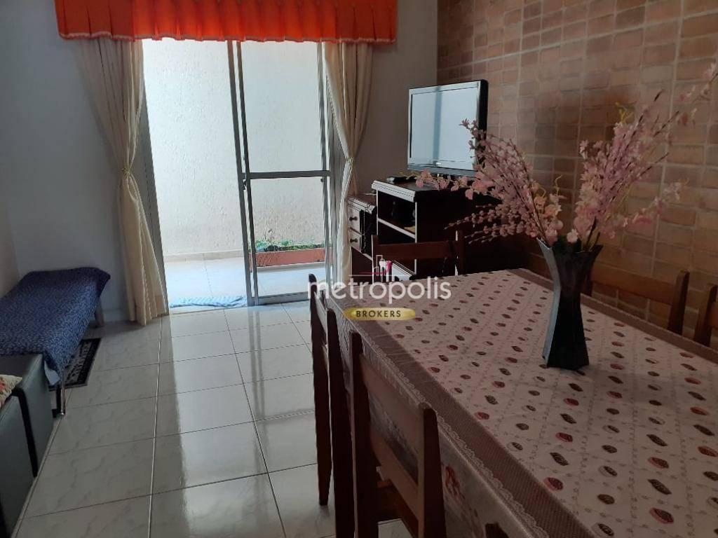 Apartamento com 2 dormitórios à venda, 70 m² por R$ 370.000 - Santa Paula - São Caetano do Sul/SP