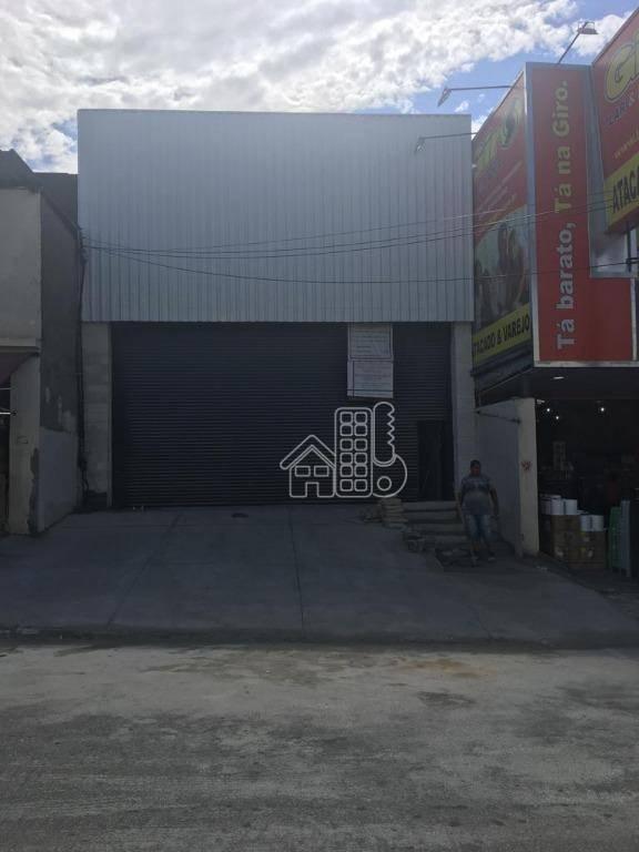 Loja para alugar, 700 m² por R$ 15.000,00/mês - Vigário Geral - Rio de Janeiro/RJ