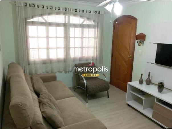 Casa à venda, 170 m² por R$ 680.000,00 - Nova Gerti - São Caetano do Sul/SP