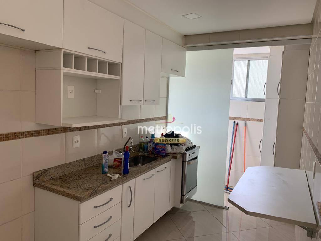 Apartamento com 2 dormitórios para alugar, 62 m² por R$ 1.190,00/mês - Rudge Ramos - São Bernardo do Campo/SP
