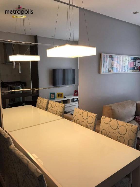Apartamento com 2 dormitórios à venda, 53 m² por R$ 290.000