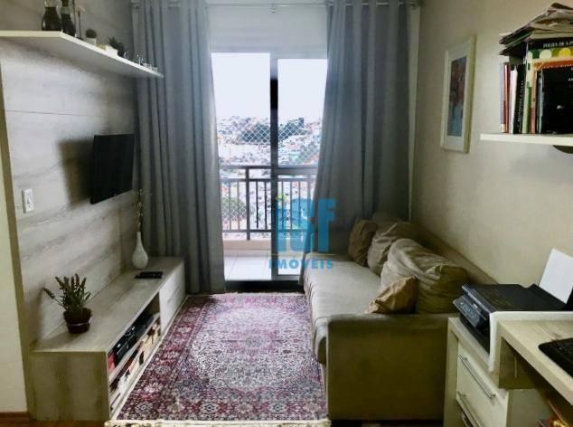 Apartamento com 2 dormitórios à venda, 45 m² por R$ 215.000 - Vila da Oportunidade - Carapicuíba/SP - AP24954.