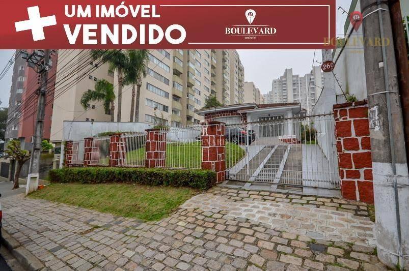 Terreno Estrutural | 1.162m² | Curitiba | Portão