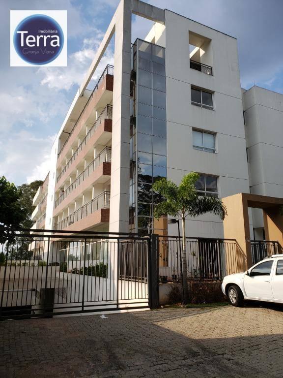Studio com 1 dormitório para alugar, 27 m² por R$ 2.350/mês - New Studio Granja Viana .