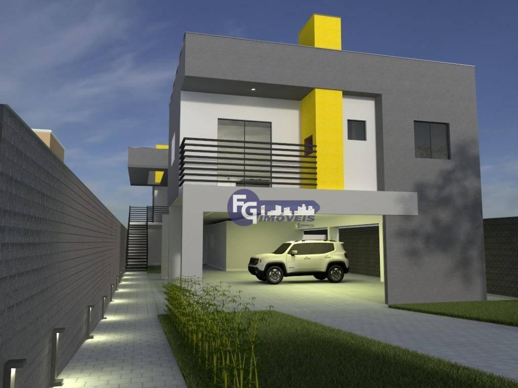 Apartamento com 2 dormitórios à venda, 54 m² por R$ 139.900,00 - Santa Terezinha - Fazenda Rio Grande/PR