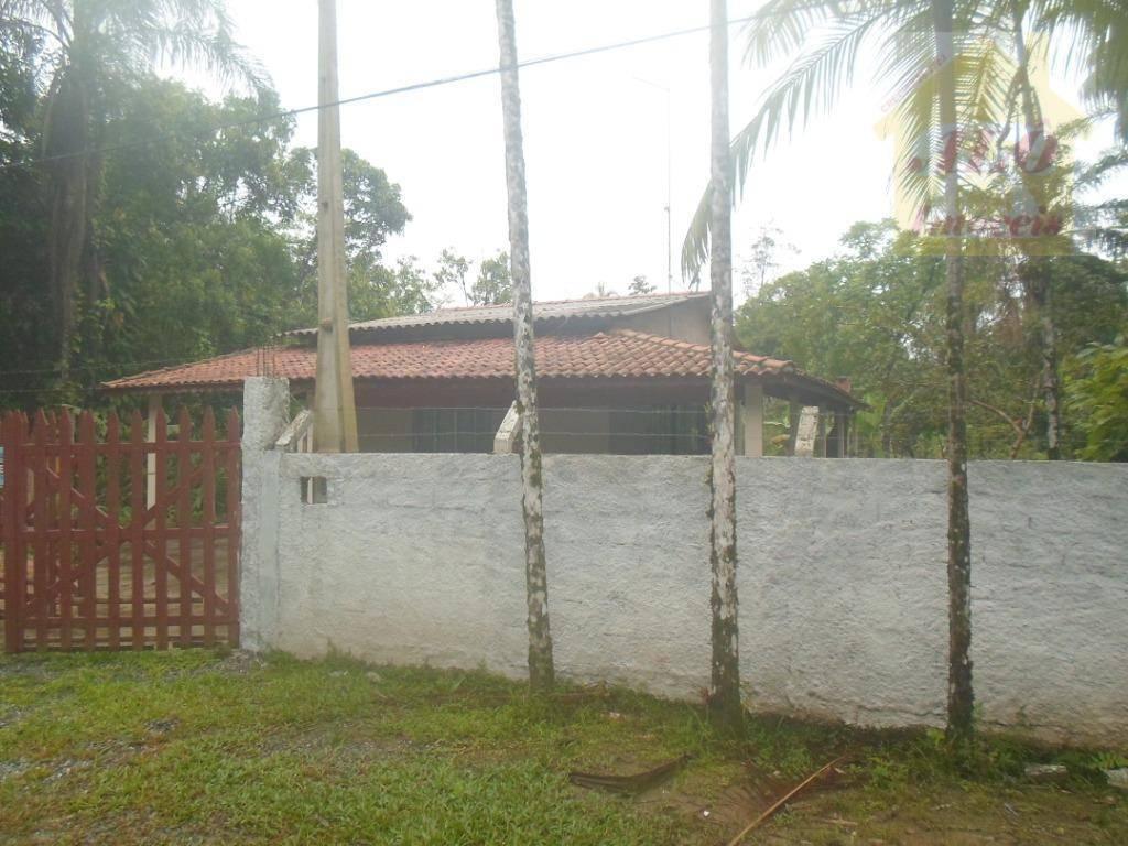 Chácara com 2 dormitórios à venda, 2500 m² por R$ 180.000,00 - Jardim Edel - Itanhaém/SP
