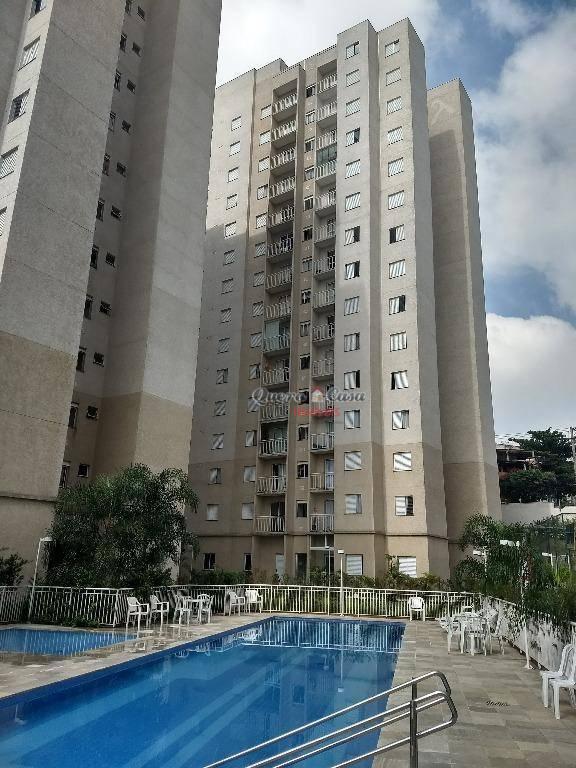 Apartamento residencial para locação, Jardim Bela Vista, Gua