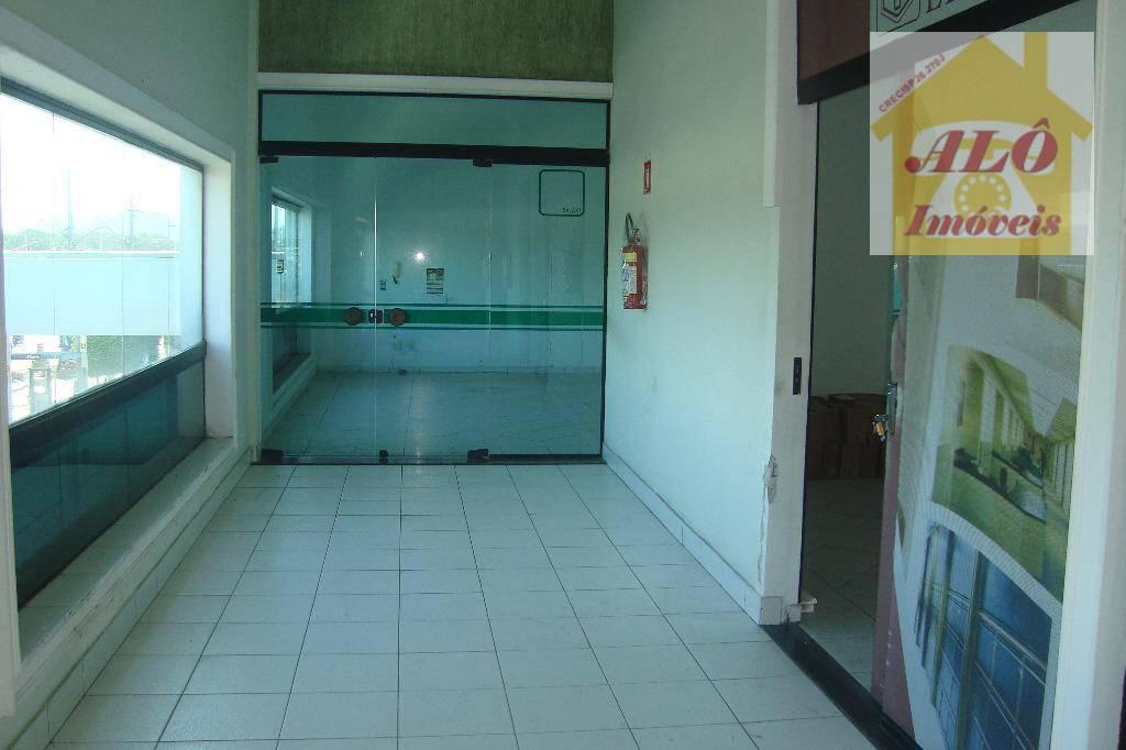 Sala para alugar, 95 m² por R$ 1.300,00/mês - Tude Bastos (Sítio do Campo) - Praia Grande/SP