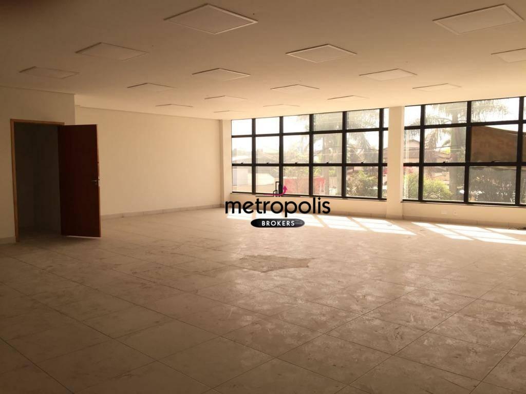 Sala comercial para locação, Jardim São Caetano, São Caetano do Sul.