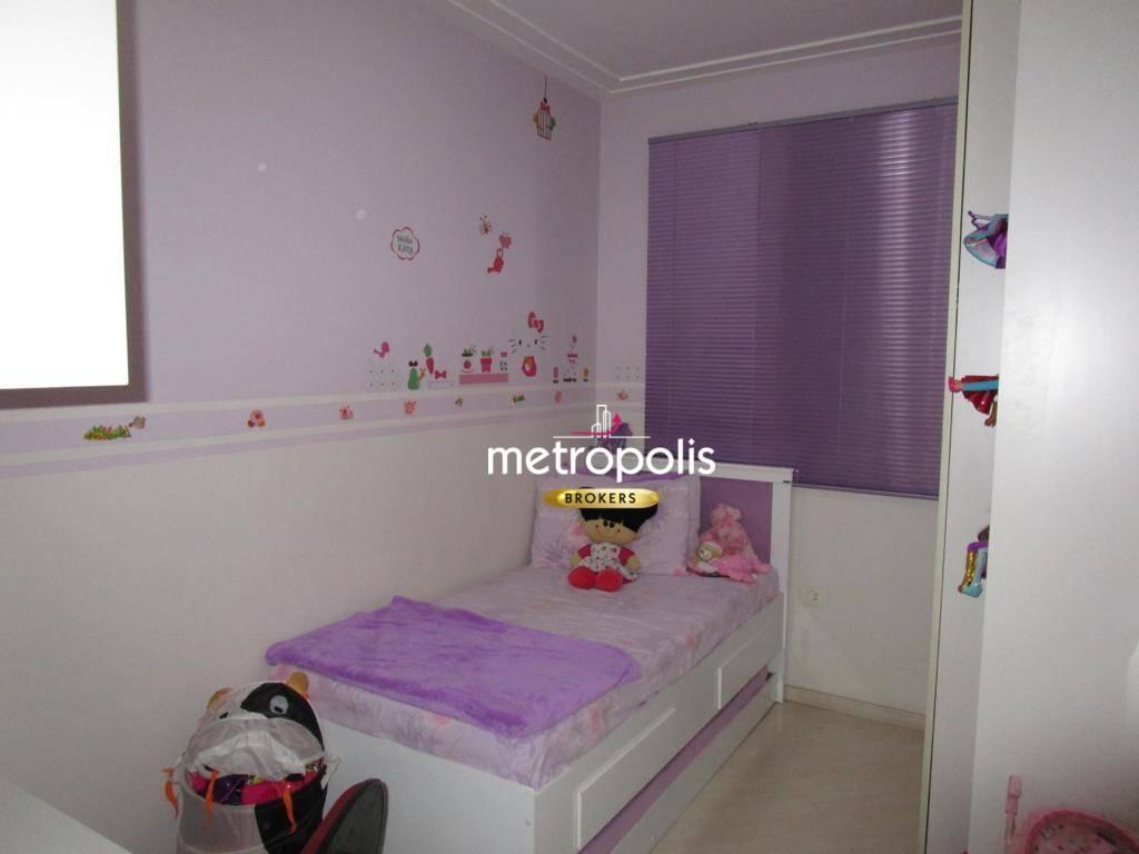 Apartamento com 3 dormitórios à venda, 84 m² por R$ 590.000 - Barcelona - São Caetano do Sul/SP