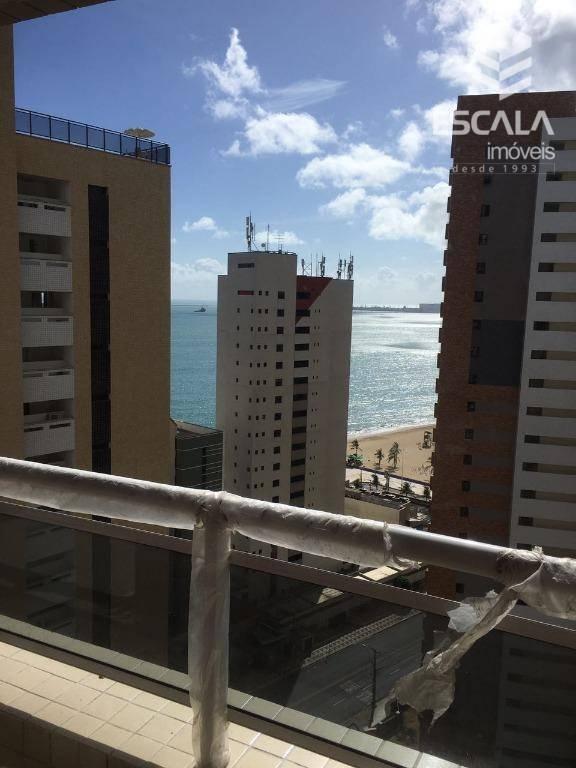Apartamento com 3 dormitórios para alugar, 75 m² por R$ 3.000/mês - Meireles - Fortaleza/CE