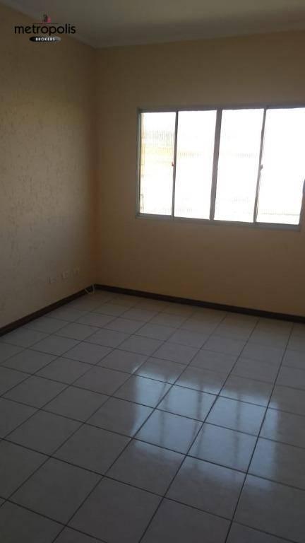 Apartamento com 2 dormitórios para alugar, 50 m² por R$ 1.600,00/mês - Jardim - Santo André/SP