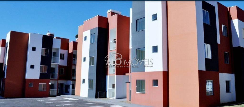 Apartamento com 2 dormitórios em Araucária