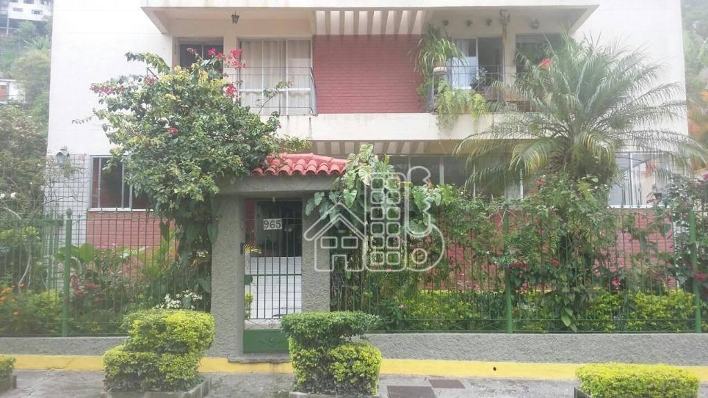 Apartamento com 2 dormitórios à venda, 70 m² por R$ 300.000 - Agriões - Teresópolis/RJ