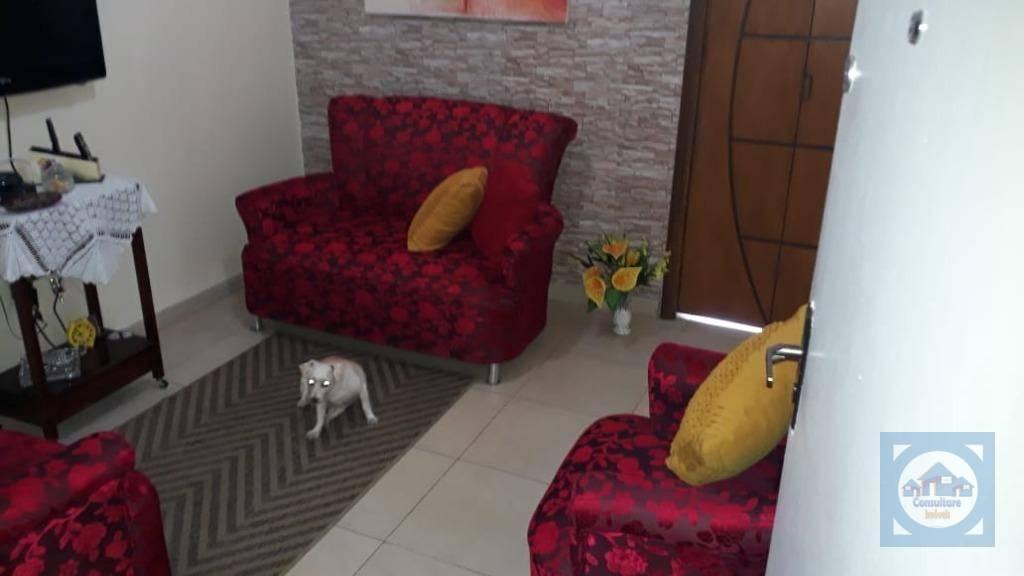 Sala living 1 dormitório à venda, 29 m² por R$ 150.000 - Centro - São Vicente/SP