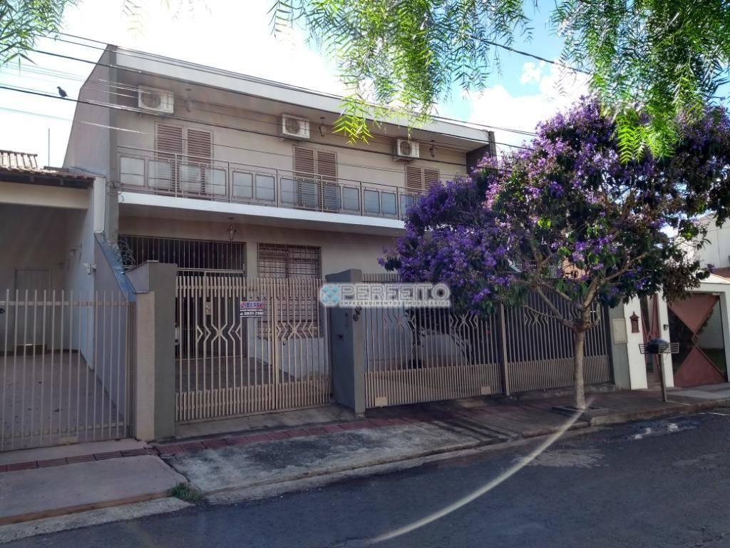 Sobrado com 4 dormitórios para alugar no Jardim Quebec em Londrina, 275 m² por R$ 3.000/mês