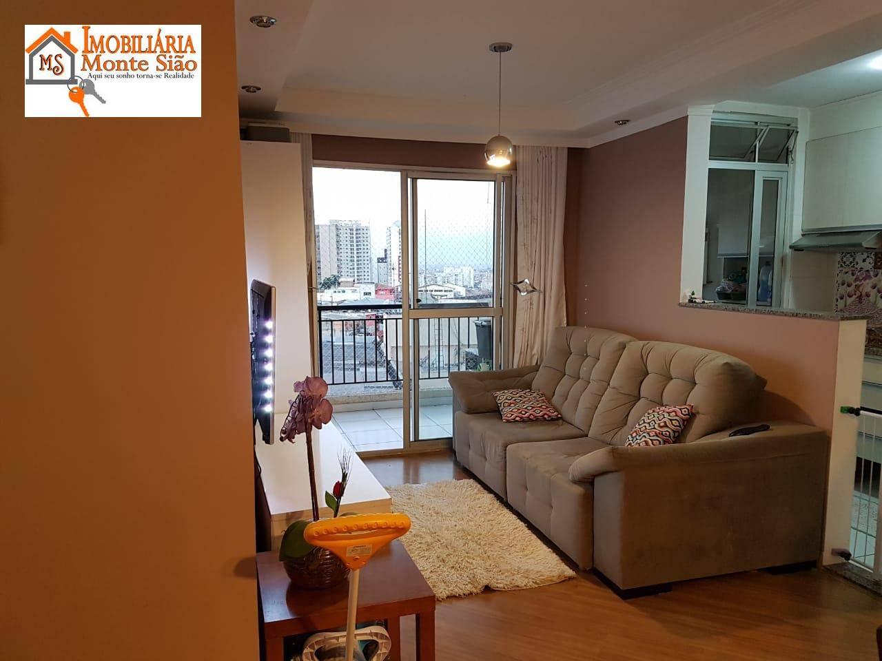 Apartamento com 2 dormitórios à venda, 60 m² por R$ 290.000,00 - Picanco - Guarulhos/SP