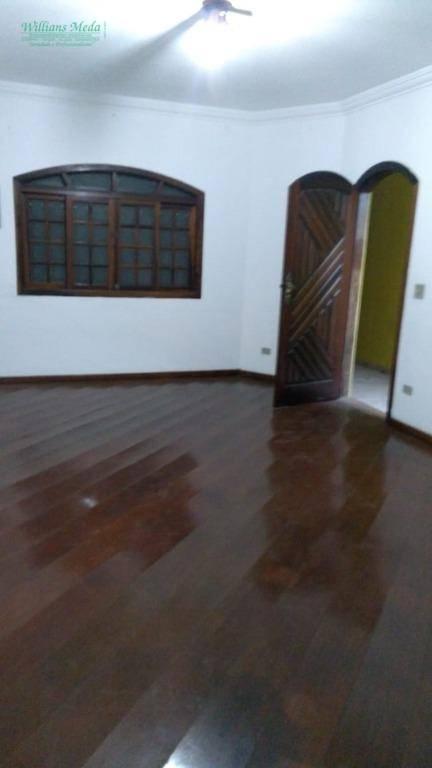 Sobrado  residencial para locação, Parque Renato Maia, Guaru