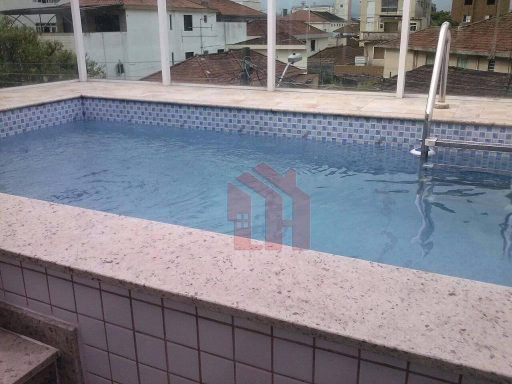 Casa residencial à venda, Embaré, Santos - CA0162.
