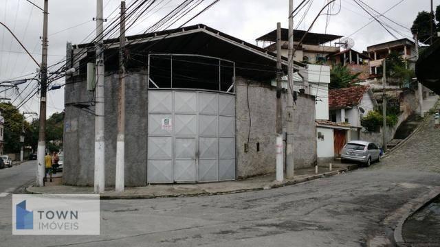Galpão, 900 m² - venda por R$ 3.200.000,00 ou aluguel por R$ 5.800,00/mês - Engenhoca - Niterói/RJ