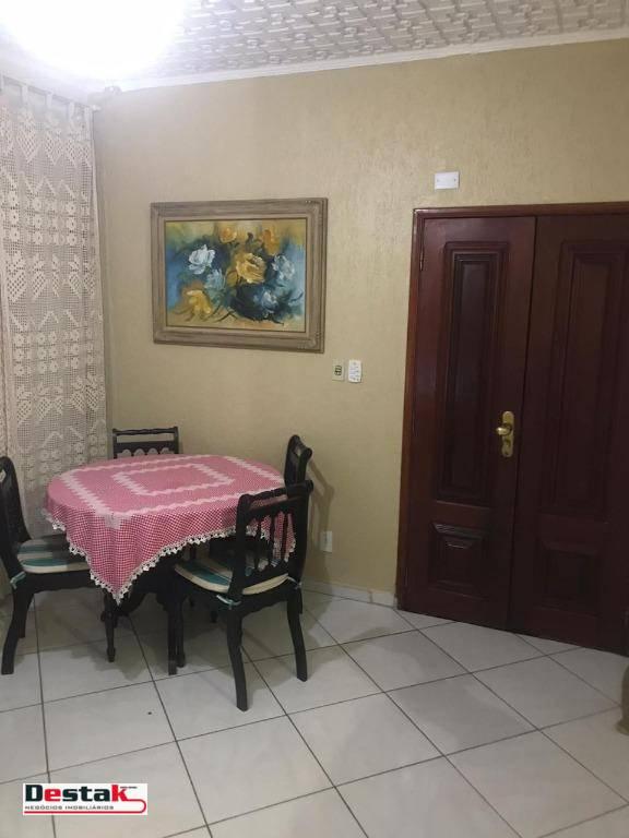 Casa Para Locação, Santo André, 160 Metros!
