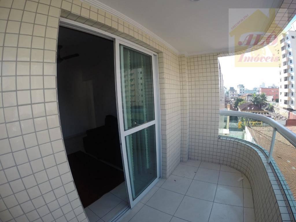 Apartamento à venda, 55 m² por R$ 190.000,00 - Aviação - Praia Grande/SP