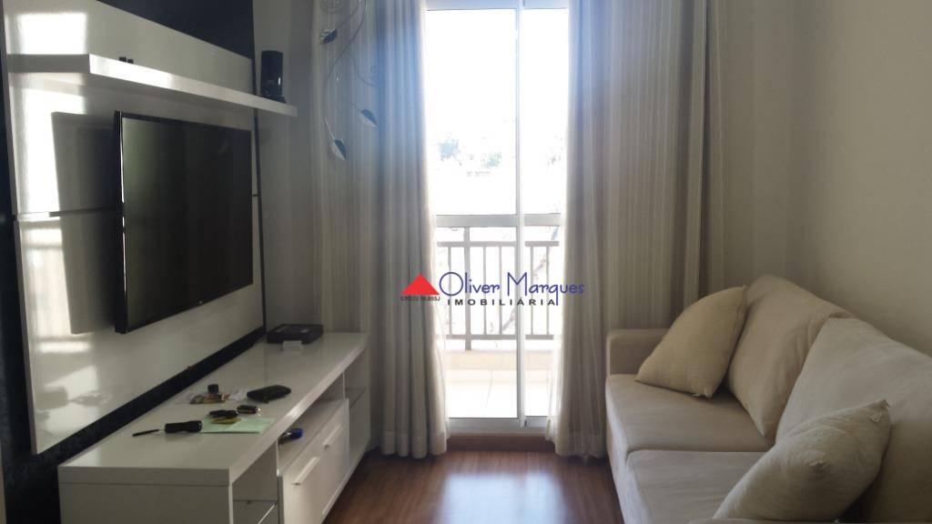 Apartamento com 2 dormitórios à venda, 48 m² por R$ 220.000 - Vila da Oportunidade - Carapicuíba/SP