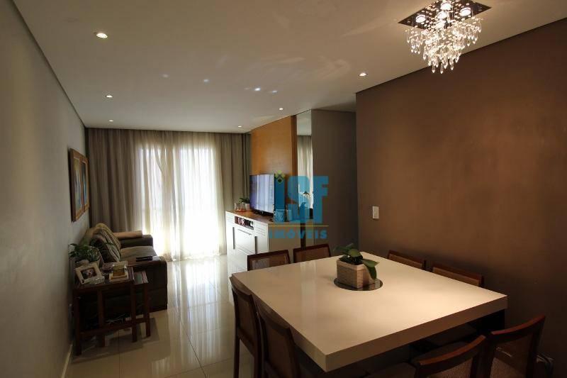 Apartamento com 3 dormitórios à venda, 90 m² por R$ 840.000 - Centro - Osasco/SP - AP20679.