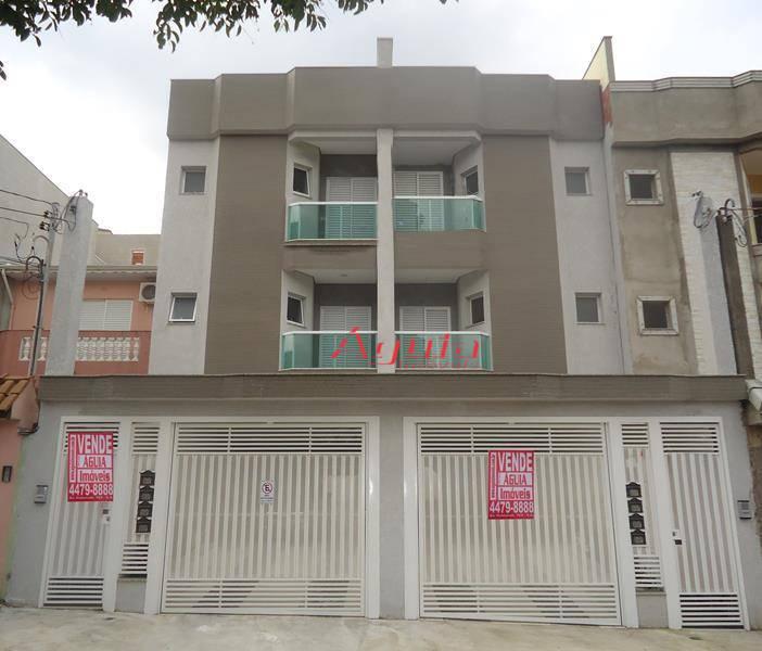 Apartamento residencial à venda, Parque das Nações, Santo André - AP0586.