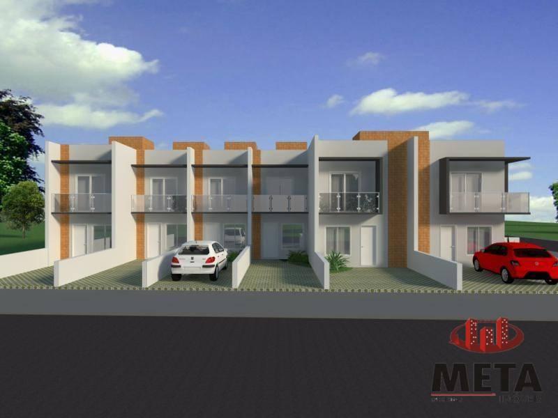 Sobrado com 2 Dormitórios à venda, 68 m² por R$ 194.000,00
