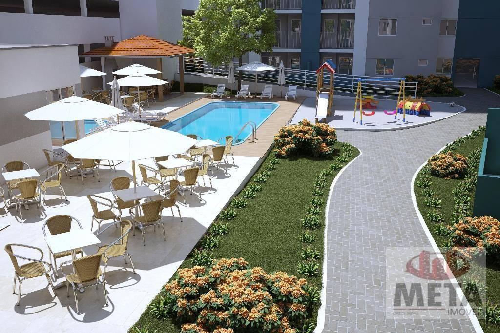 Apartamento com 2 Dormitórios à venda, 58 m² por R$ 226.807,88