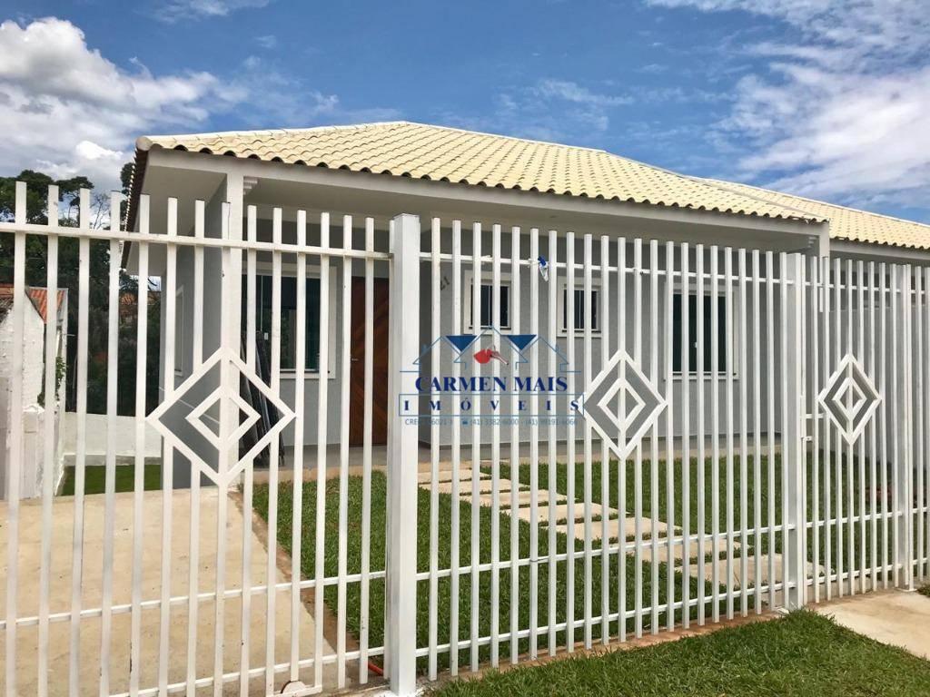 Casa com 3 dormitórios à venda, 69 m² por R$ 290.000 - Planta Meireles - Piraquara/PR