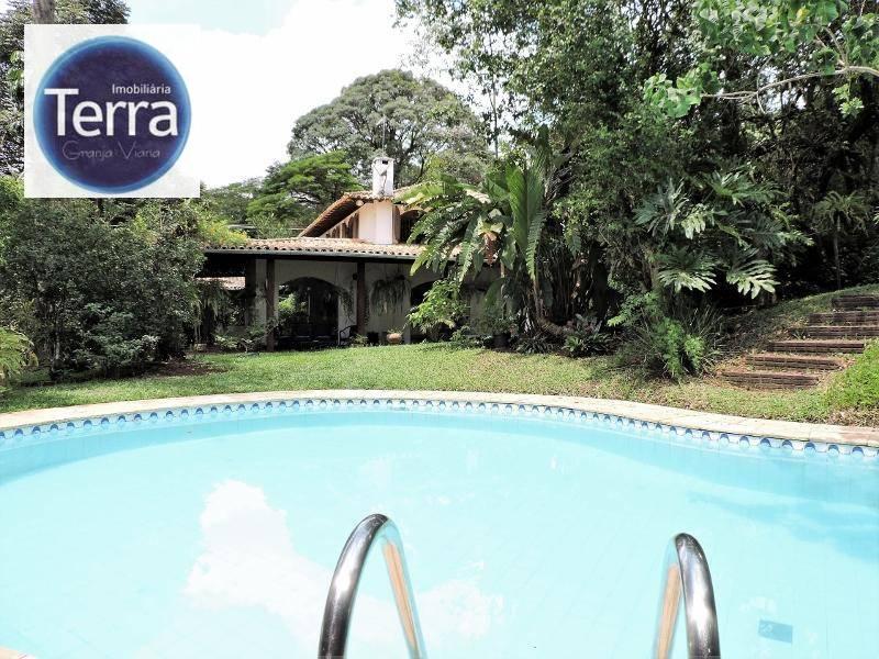Casa com 4 dormitórios à venda - Chácara São João - Granja Viana