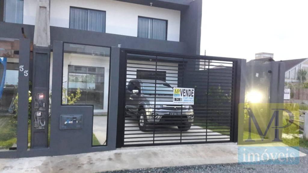 Sobrado com 3 dormitórios à venda, 104 m² por R$ 345.000 - Rua Cândido Martins da Silva - Armação - Penha/SC