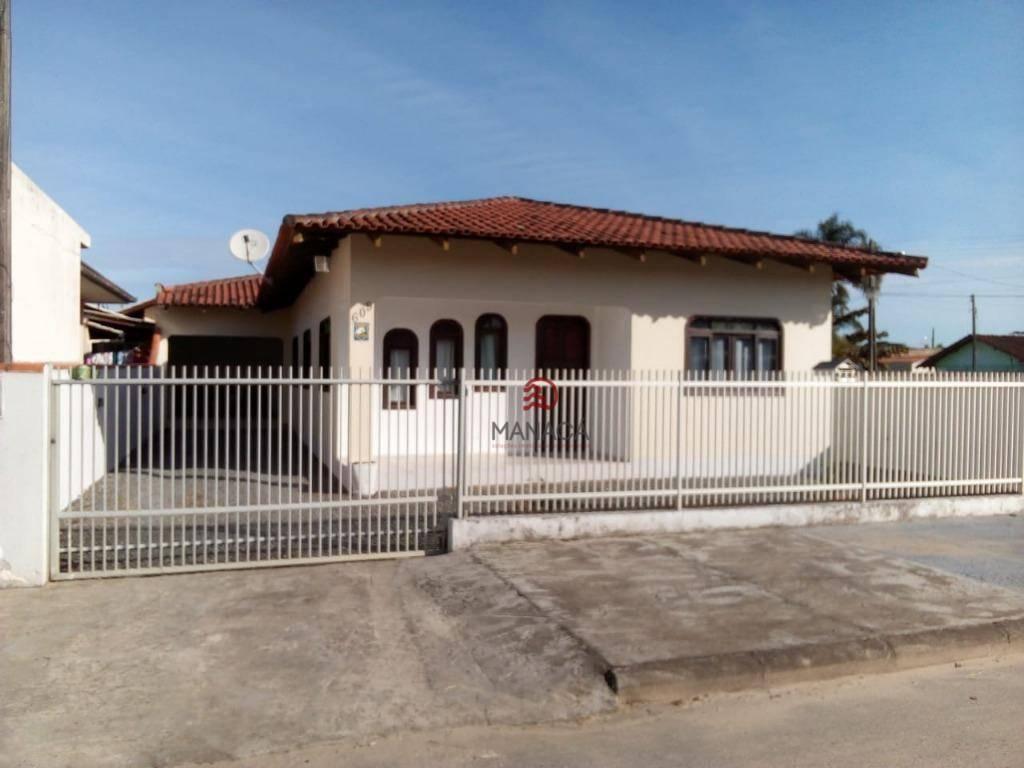 Casa com 3 dormitórios à venda, 114 m² por R$ 360.000,00 - Los Angeles - Barra Velha/SC