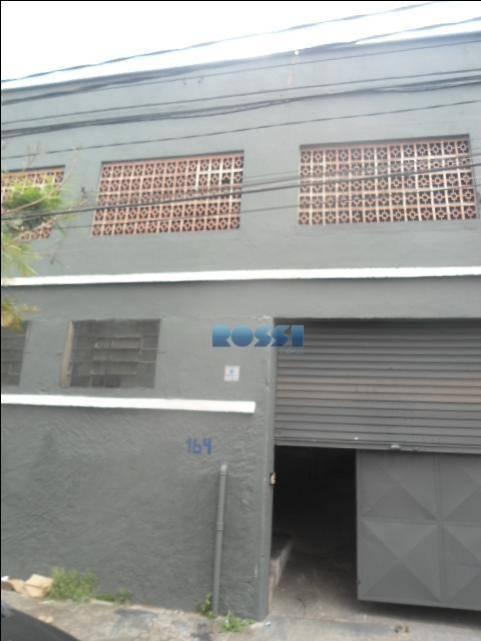 Galpão para alugar, 290 m² por R$ 4.500/mês - Alto da Mooca - São Paulo/SP