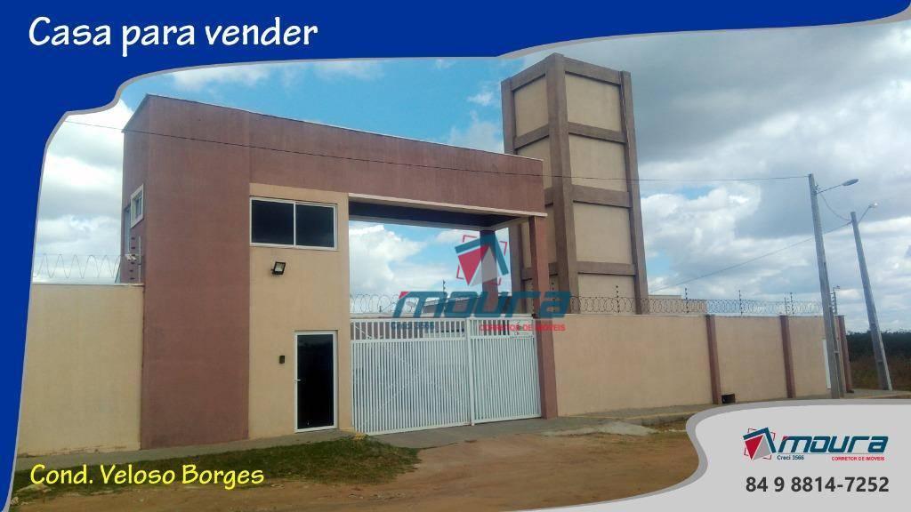 Casa com 3 dormitórios à venda, 79 m² por R$ 200.000 - Presidente Costa e Silva - Mossoró/RN
