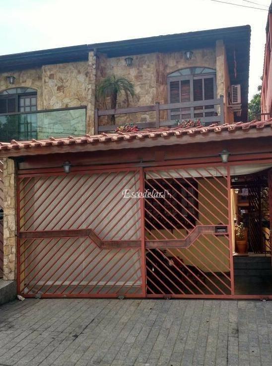 Sobrado residencial à venda, Jardim Paulista, Guarulhos.