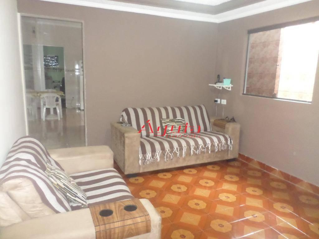 Casa com 2 dormitórios à venda, 76 m² por R$ 339.000 - Parque Novo Oratório - Santo André/SP