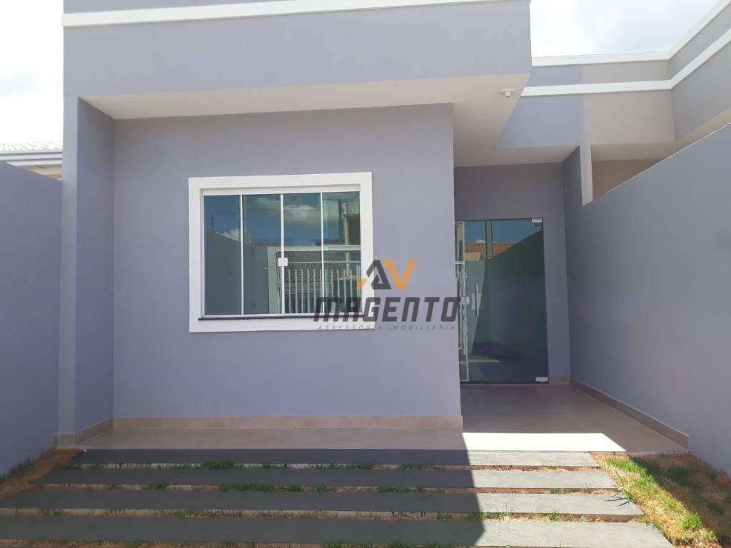 Casa com 3 dormitórios à venda, 70 m² por R$ 230.000 - Padovani - Cascavel/PR