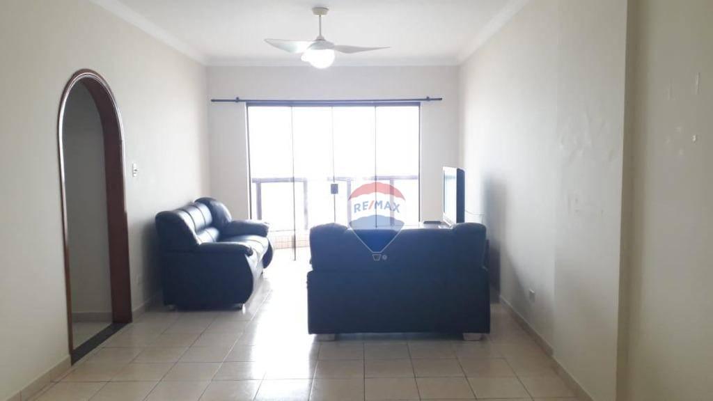 Temporada- Apto 112 m²,  2 dormitórios, 1 suite, 1 vaga - Praia Grande/SP diária 600 reais