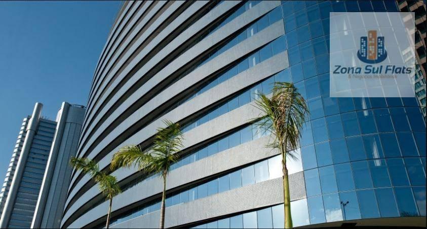 Sala Comercial Para Locação Próximo Ao Brooklin - Av. Nações Unidas I Mobiliada I 8 Vagas I 265m²
