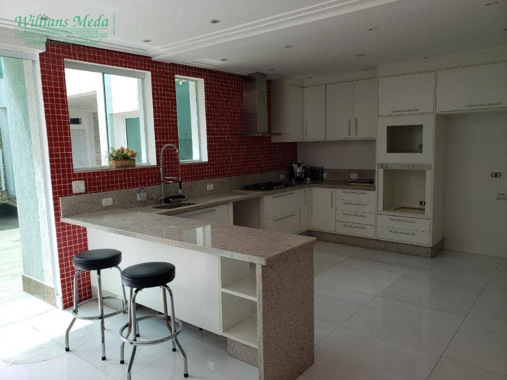 Sobrado com 4 dormitórios à venda, 250 m² por R$ 1.500.000,00 - Cidade Maia - Guarulhos/SP