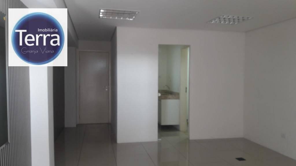 Sala para alugar, 42 m² por R$ 2.800/mês - The Square - Granja Viana