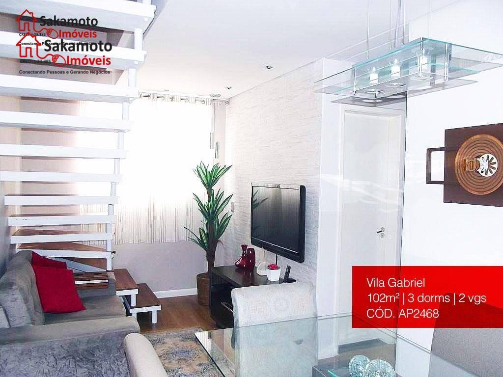 Apartamento residencial à venda, Vila Gabriel, Sorocaba - AP2468.