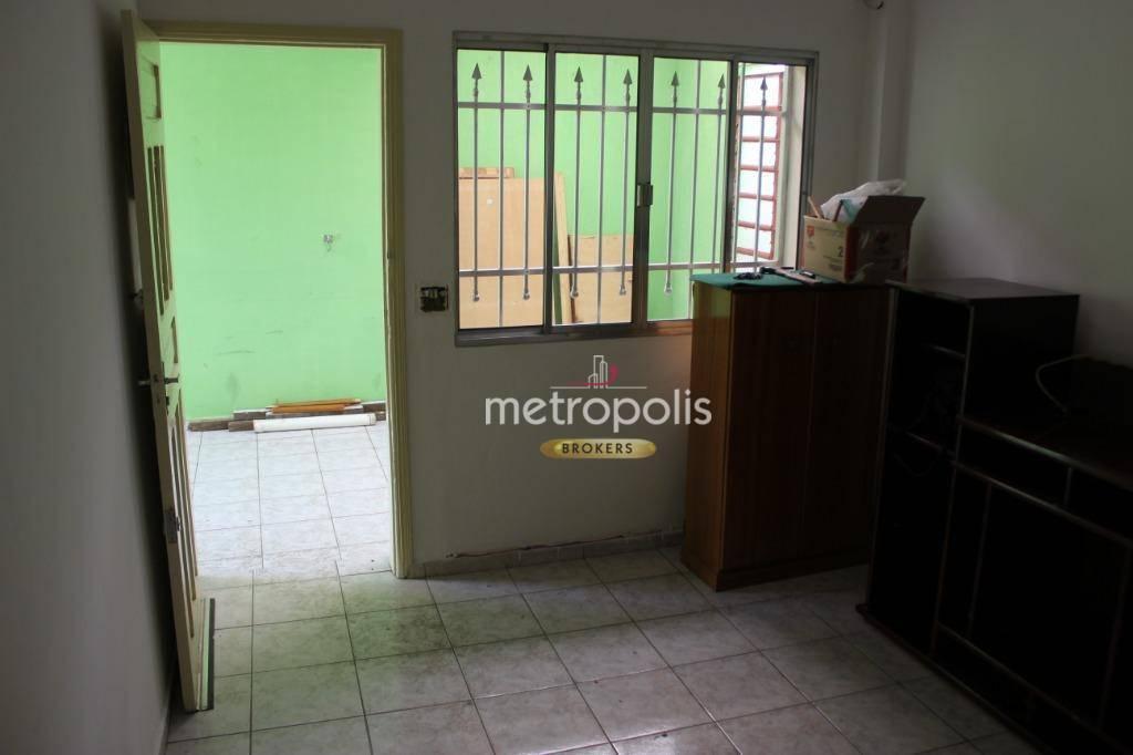 Casa para alugar, 100 m² por R$ 1.800,00/mês - Barcelona - São Caetano do Sul/SP