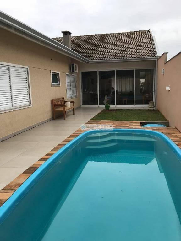 Casa com 4 dormitórios à venda no Mediterrâneo, 280 m² por R$ 980.000