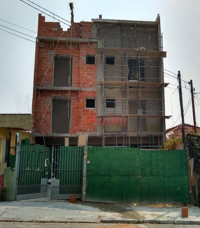 Apartamento com 2 dormitórios à venda, 47 m² por R$ 275.000 - Bangu - Santo André/SP